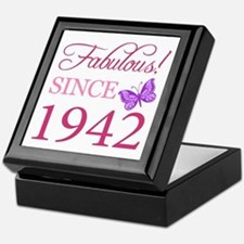 Fabulous Since 1942 Keepsake Box