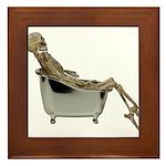 Skeleton Bathtub Framed Tile