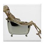 Skeleton Bathtub Tile Coaster