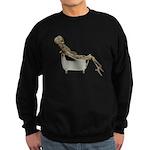 Skeleton Bathtub Sweatshirt (dark)
