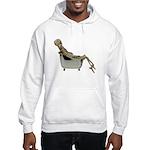 Skeleton Bathtub Hooded Sweatshirt
