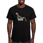 Skeleton Bathtub Men's Fitted T-Shirt (dark)