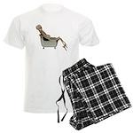 Skeleton Bathtub Men's Light Pajamas