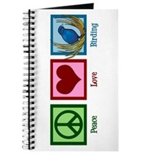Peace Love Birding Journal
