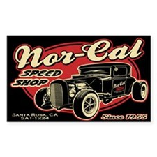 Nor-Cal Speed Shop Decal