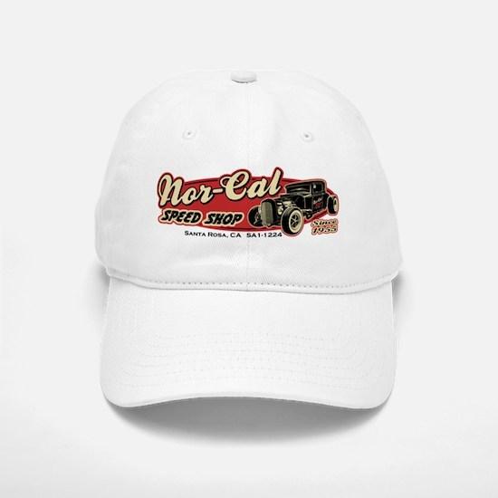 Nor-Cal Speed Shop Baseball Baseball Cap