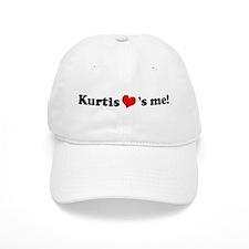 Kurtis loves me Baseball Cap