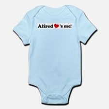 Alfred loves me Infant Creeper
