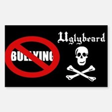 Uglybeard Anti-Bullying Sticker (rectangle)