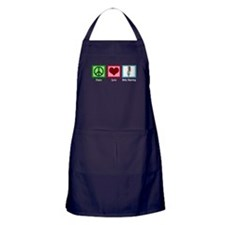 Peace Love Belly Dancing Apron (dark)