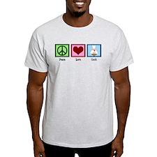 Peace Love Cook T-Shirt