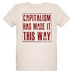 Capitalism Has Made It This W Organic Kids T-Shirt