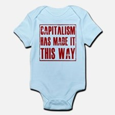 Capitalism Has Made It This W Infant Bodysuit