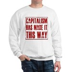 Capitalism Has Made It This W Sweatshirt