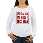 Capitalism Has Made It This W Women's Long Sleeve