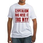 Capitalism Has Made It This W Fitted T-Shirt