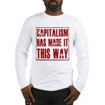 Capitalism Has Made It This W Long Sleeve T-Shirt