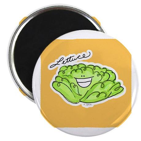 Smiley Lettuce Magnet