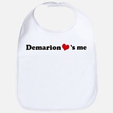 Demarion loves me Bib