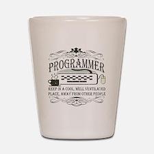Vintage Programmer Shot Glass