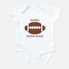 Daddy's Football Buddy Infant Bodysuit