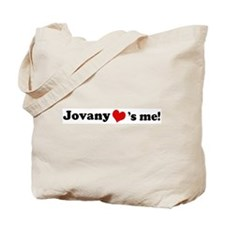 Jovany loves me Tote Bag