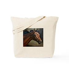 Brown Mare Tote Bag