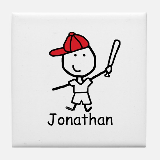 Baseball - Jonathan Tile Coaster