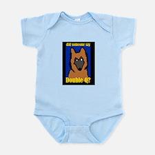 Belgian Tervuren Double Q Infant Bodysuit