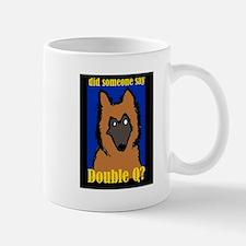 Belgian Tervuren Double Q Mug