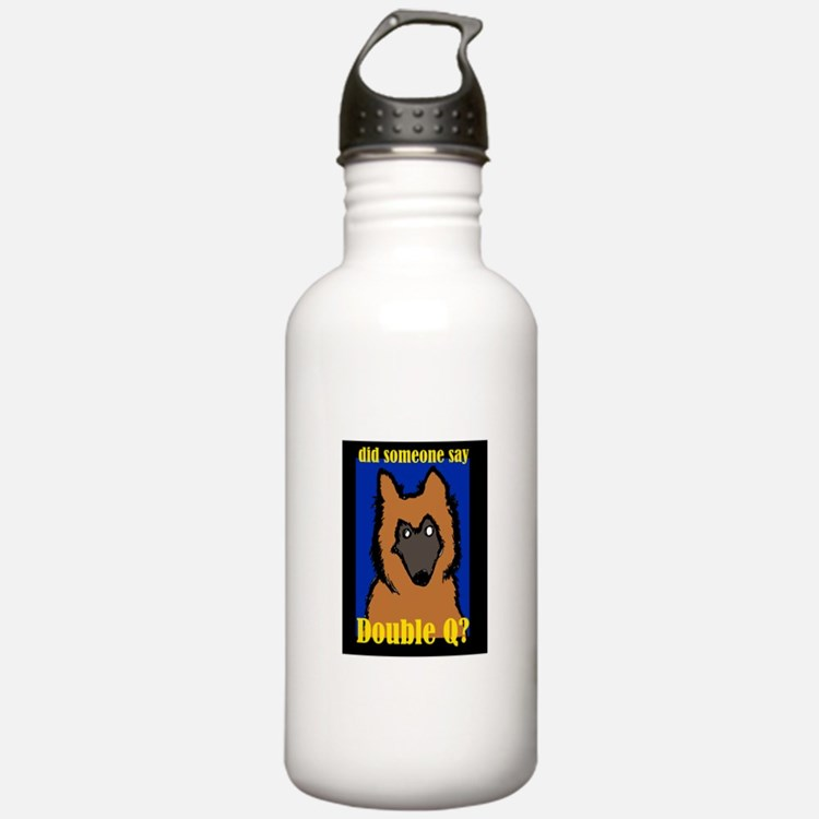 Belgian Tervuren Double Q Water Bottle
