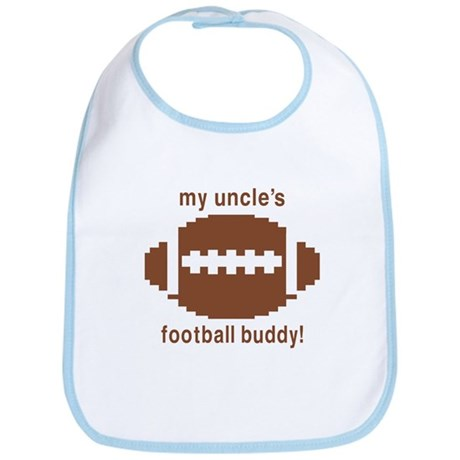 My Uncle's Football Buddy Bib