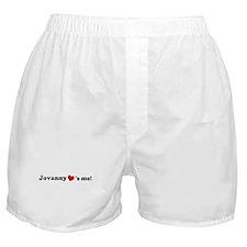 Jovanny loves me Boxer Shorts