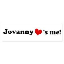 Jovanny loves me Bumper Bumper Sticker