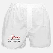 Atheism is a Non Prophet Boxer Shorts