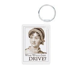 Jane Austen WWJ Keychains