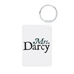 Jane Austen Mrs. Darcy Keychains