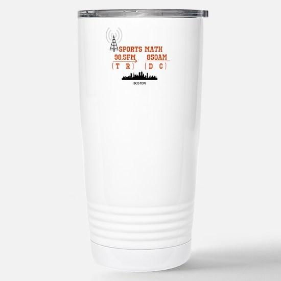 SportsRadio Stainless Steel Travel Mug