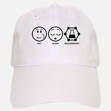 Eat Sleep Biochemistry Baseball Baseball Cap