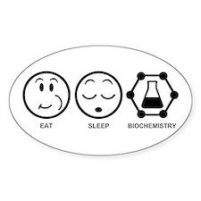 Eat Sleep Biochemistry Decal