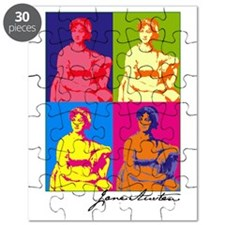 Jane Austen Pop Art Puzzle