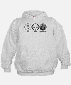 Eat Sleep Shakespeare Hoodie