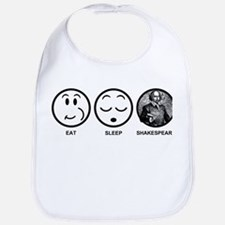 Eat Sleep Shakespeare Bib