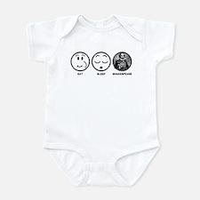 Eat Sleep Shakespeare Infant Bodysuit