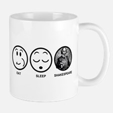 Eat Sleep Shakespeare Mug