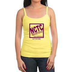NCTC Logo Gifts Jr.Spaghetti Strap