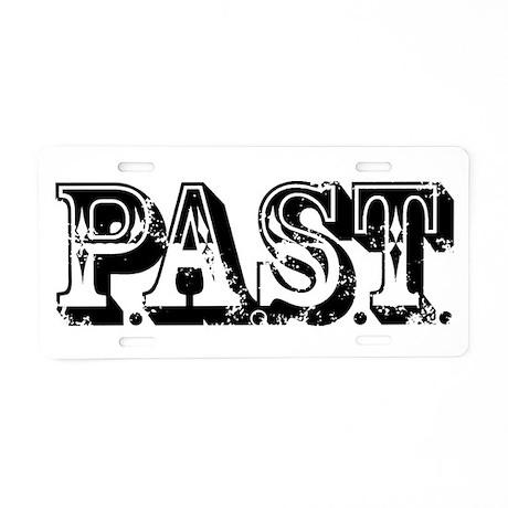 PAST Investigator Aluminum License Plate