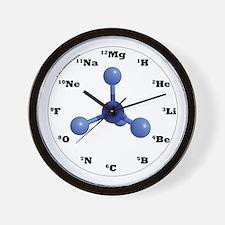 Elements Wall Clock - Blue