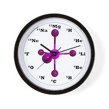 Elements Wall Clock - Purple