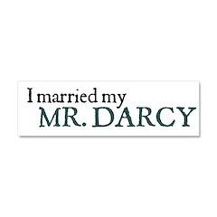Jane Austen Mr. Darcy Car Magnet 10 x 3